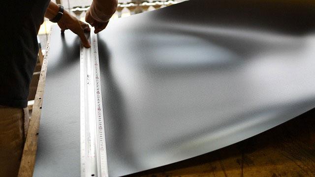 (ディズニーキャリーバッグ)枠板用樹脂板