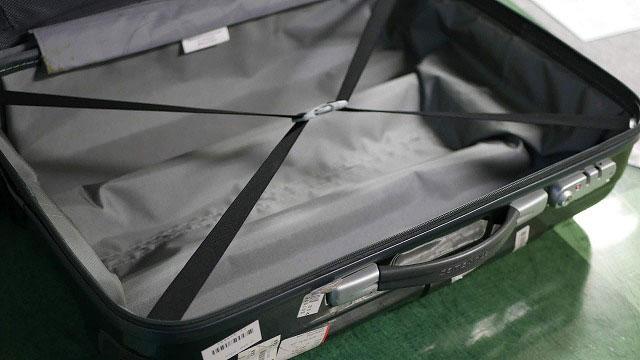 (サムソナイト)スーツケースの内装張替え