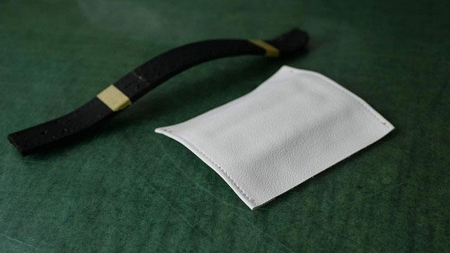 (SRIXON)スリクソン/ゴルフバッグのハンドルグリップ作製