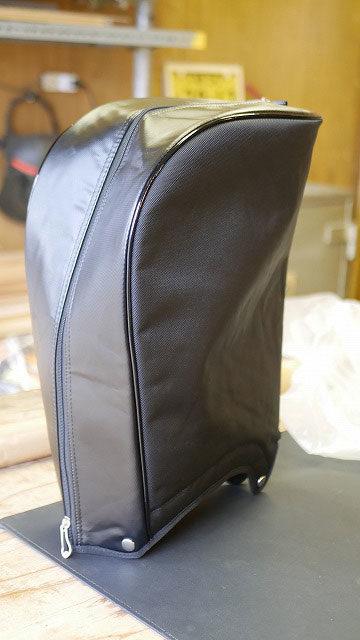 (PUMA)プーマ / キャディバッグ フードカバーの生地破れを張替え修理