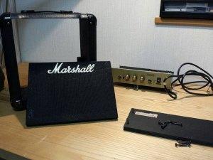 (marshall)マーシャル / ギターアンプをカスタムする為解体