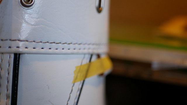 (CLUBER BASE)クラバーベース/キャディバッグの口枠外周の縫製