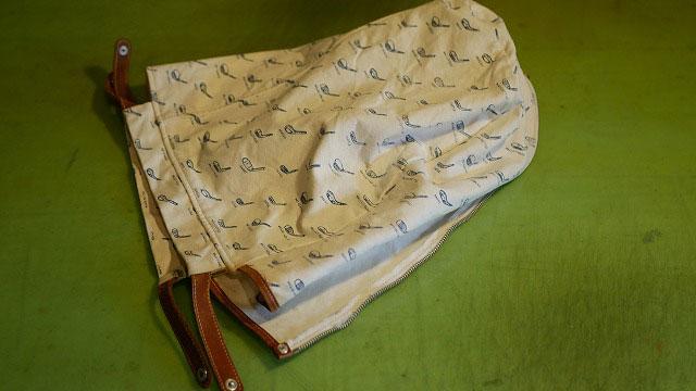 木の庄帆布/キャディバッグの修理