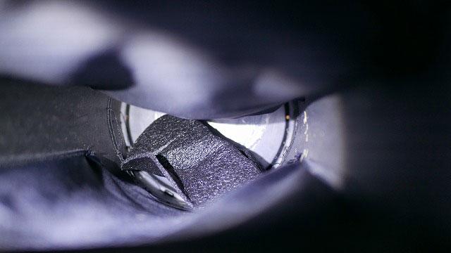 (PXG)ピーエックスジー/キャディバッグの底クッション材が剥がれてクラブに絡まる