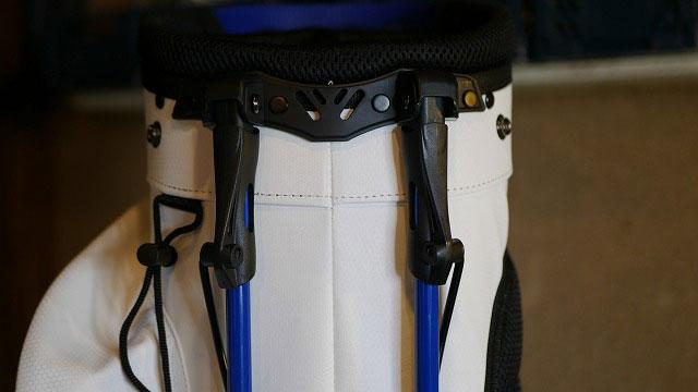 (keithharing)キースへリング/スタンドキャディバッグの折れた脚を新しく作製交換