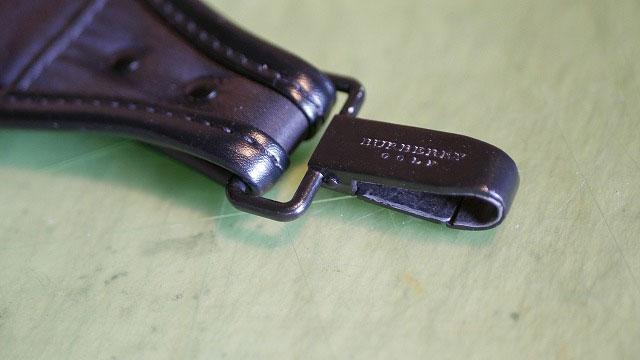 (Burberry)バーバリー/キャディバッグのショルダーベルトナスカンの取替修理