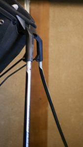 (OGIO)オジオ/スタンドキャディバッグの棒が折れ曲がっている