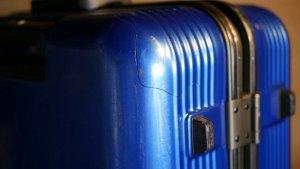 (Samsonite)サムソナイト/スーツケースのシェル割れ