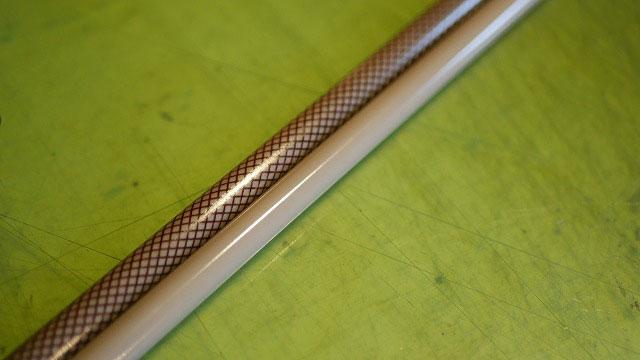 (BRIEFING)ブリーフィング/スタンドキャディバッグの折れた脚を新しく作製して同系色に塗装