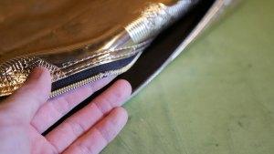 (MARK&LONA)マークアンドロナ/キャディバッグのフードカバーファスナーエレメントの解れ修理
