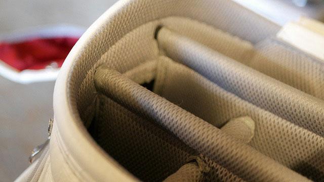 (MIZUNO)ミズノ/キャディバッグのセパレーター芯棒折れを修理