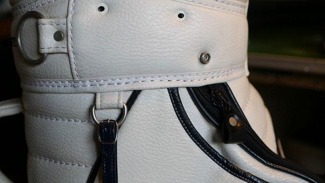 (PEARLY GATES)パーリーゲイツ/キャディバッグの口枠へり縫製抜けを修理