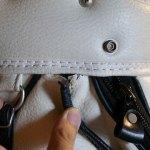 (PEARLY GATES)パーリーゲイツ/ゴルフバッグの口枠へりの縫製抜け