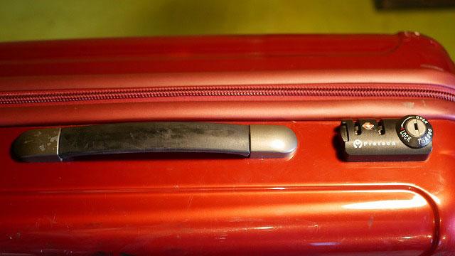 (Proteca)プロテカ/スーツケースのサイドハンドル破損修理