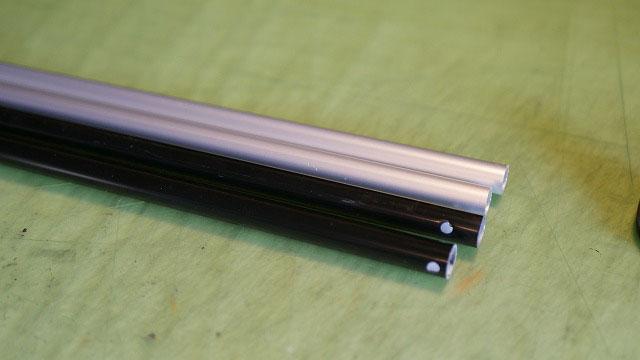 (NEW ERA)ニューエラ/キャディバッグのスタンド脚交換に使用するアルミパイプ