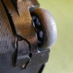 (Quicksilver)クイックシルバー/スノーボードバッグのキャスター破損
