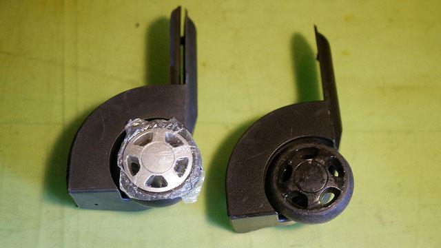(Quicksilver)クイックシルバー/スノーボードバッグの修理に使用する代替えキャスター