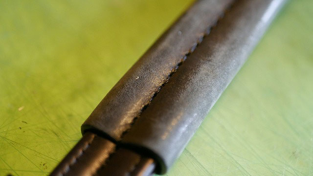 (TUMI)トゥミ/キャディバッグの持ち手グリップ部分の色剥げ