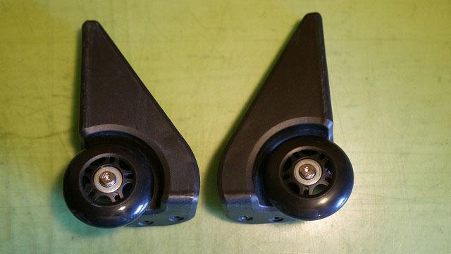 (SWISSGEAR)スイスギア/キャリーバッグの車輪を代替えパーツに交換