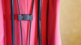 (Camicia Sportiva+)カミーチャスポルティーバ/キャディバッグのスタンド脚の曲がりと凹み