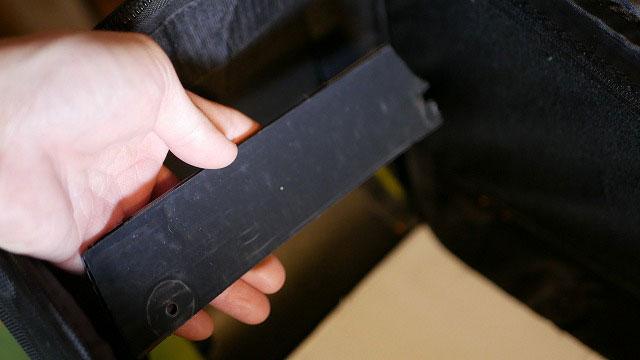 (TOKISTAR)トキスター/照明機材ケースの中板割れ