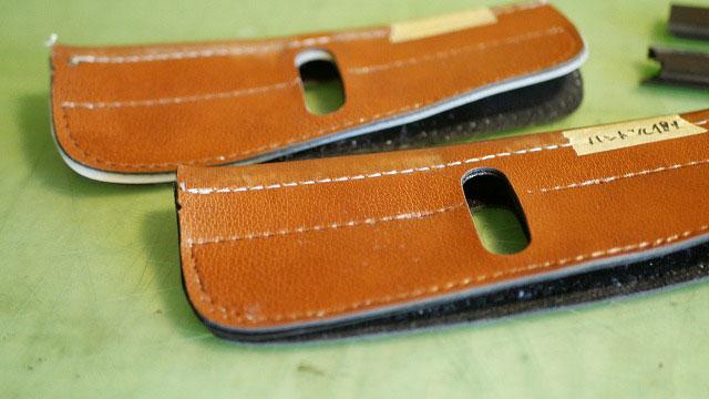 (BELDING)ベルディング/キャディバッグのセパレーターの縫製を解く