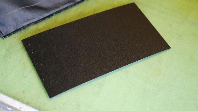 (BELDING)ベルディング/キャディバッグの中仕切りを固定する為の樹脂板
