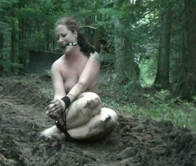Dirty Nude Girl Gag Tied Very Muddy At General Download Free