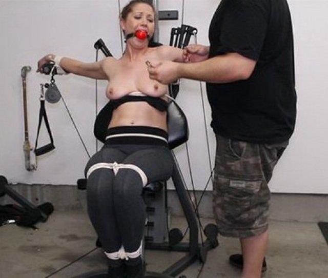 Captivechrissymarie Chrissy Caught In Self Bondage Tied Up Ballgag Torture