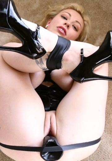 Beautiful Blonde Restrained, Stripped and Penetrated for Discipline