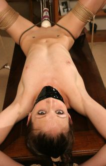 Gorgeous Skinny Slave Gets Tape Gagged, Restrained and Disciplined