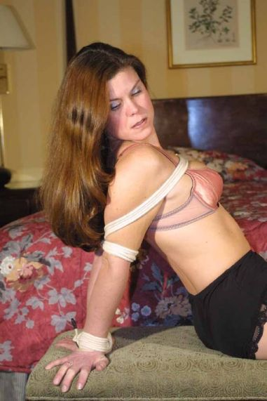 Hot Amateur Gets Bound, Gagged and Stripped in Hotel Room