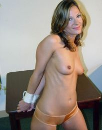 Hot Housewife Gets Stripped, Bound and Gagged at Home for Punishment