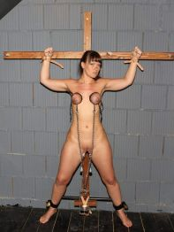 Pretty Slave Gets Restrained and Disciplined by Her Cruel Mistress