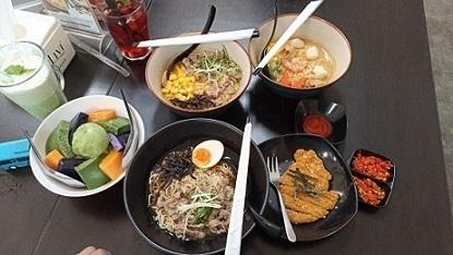 Makan Bersama Keluarga di Kedaishi Ramen