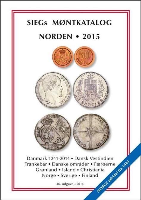 Siegs Møntkatalog 2015 Norden