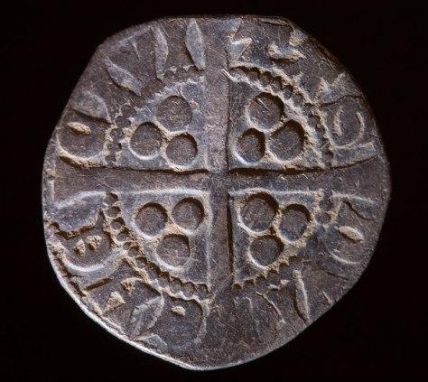 Penny Long Cross, slået i Durham, Nordengland