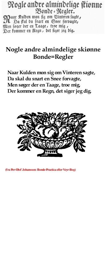 Udvalg fra per-Olof Johansson: Bonde-Practica, uge 9