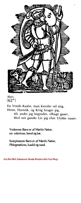 Udvalgt fra Per-Olof Johansson: Bonde-Practica eller Veyr-Bog