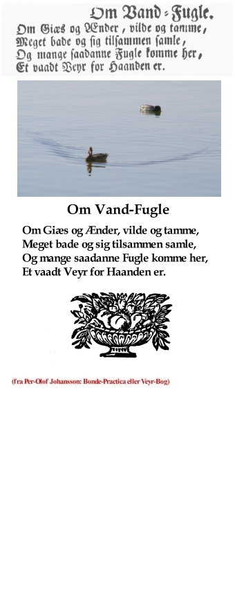 Uge 16 - udvalg fra Per-Olof Johansson: Bonde-Practica eller Veyr-Bog