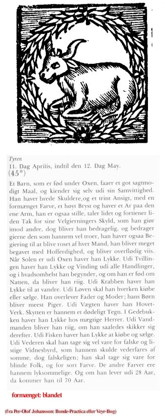 Uge 17 - udvalg fra Per-Olof Johansson: Bonde-Practica eller Veyr-Bog