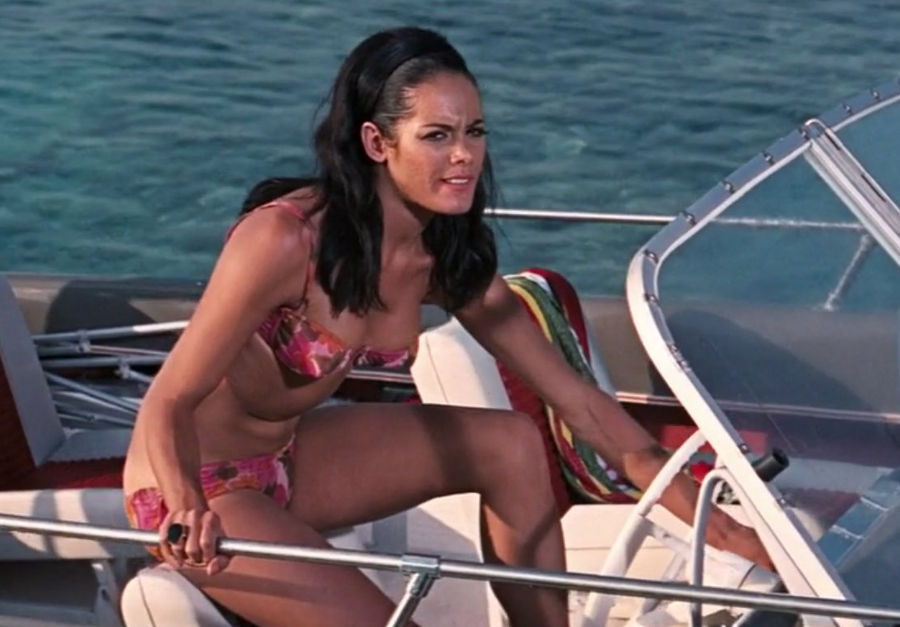 Image result for martine beswick james bond