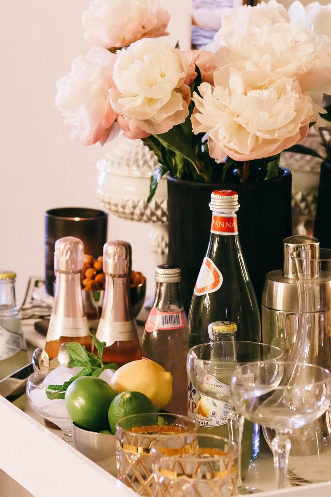 Style At Home // Bar Cart 101 | BondGirlGlam.com