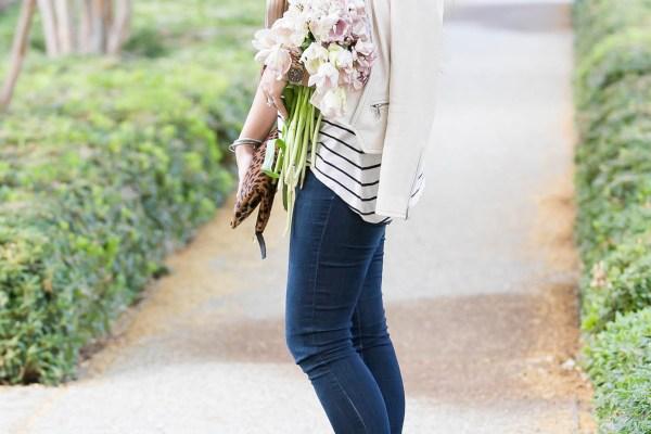 #BumpStyle // Leopard, Leather, & Stripes | BondGirlGlam.com
