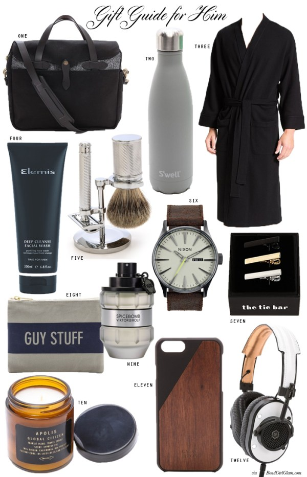 Valentine's Day Gift Ideas for Him | BondGirlGlam.com