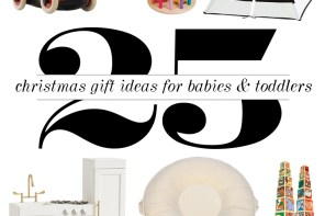 Christmas Gift Guide #1: Toys for Babies & Toddlers