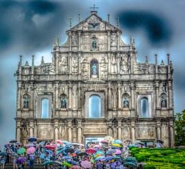Macau, Ruins of St Paul's