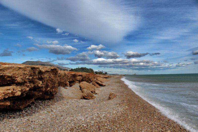 Hondenstrand Playa de Platjola