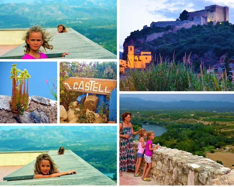 Castell Miravet Kasteel aan de Ebro