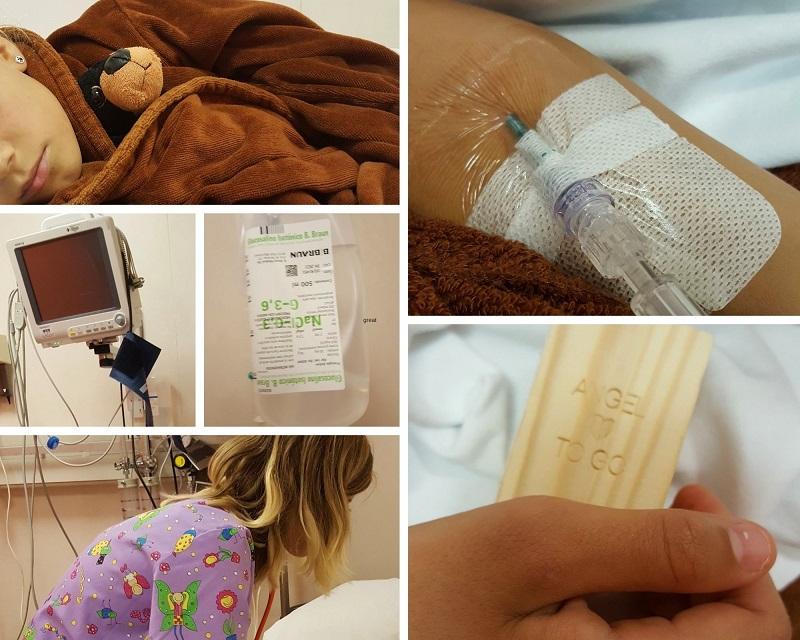 naar een Spaans ziekenhuis